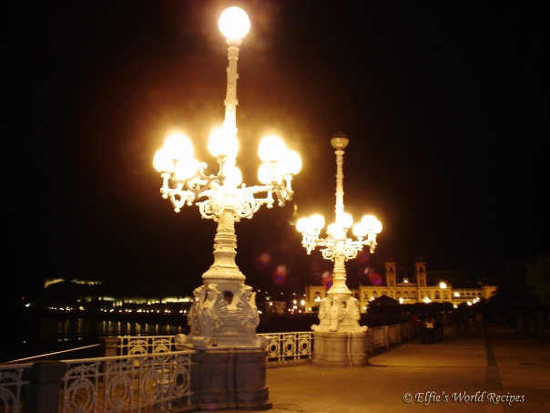 night in San Sebastian
